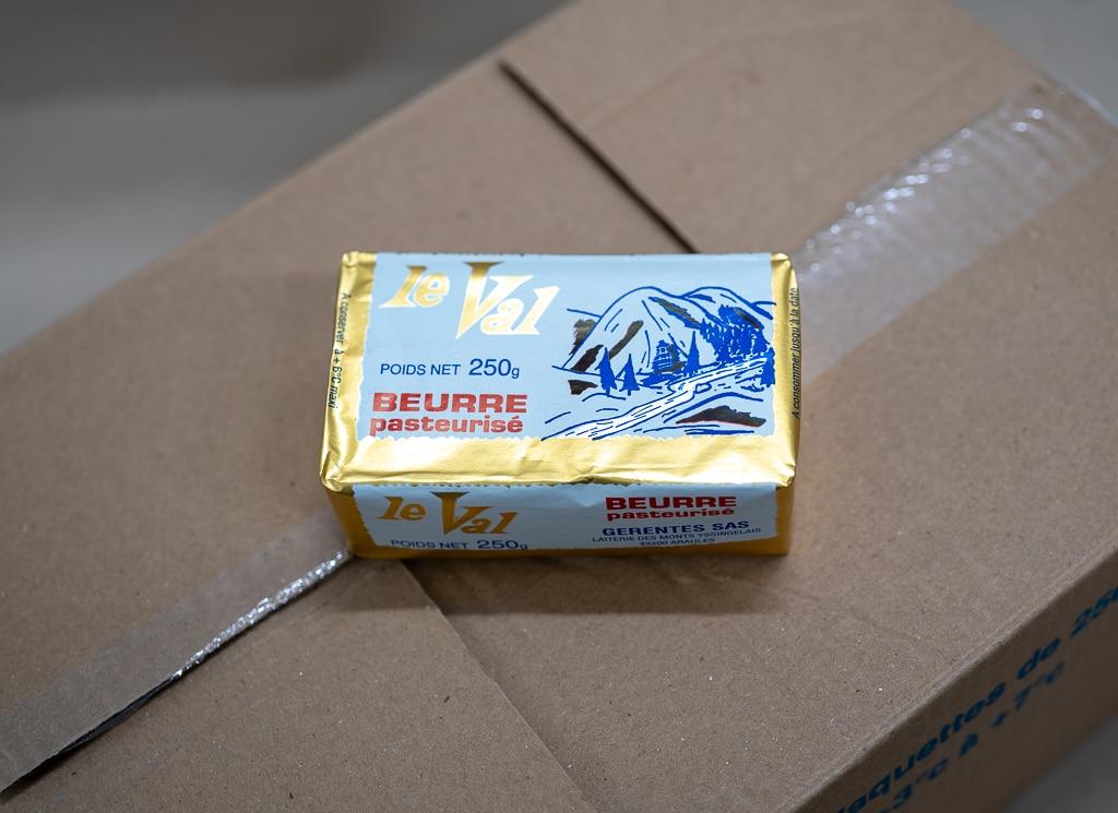 Beurre DOUX 250 GRAMMES GERENTES