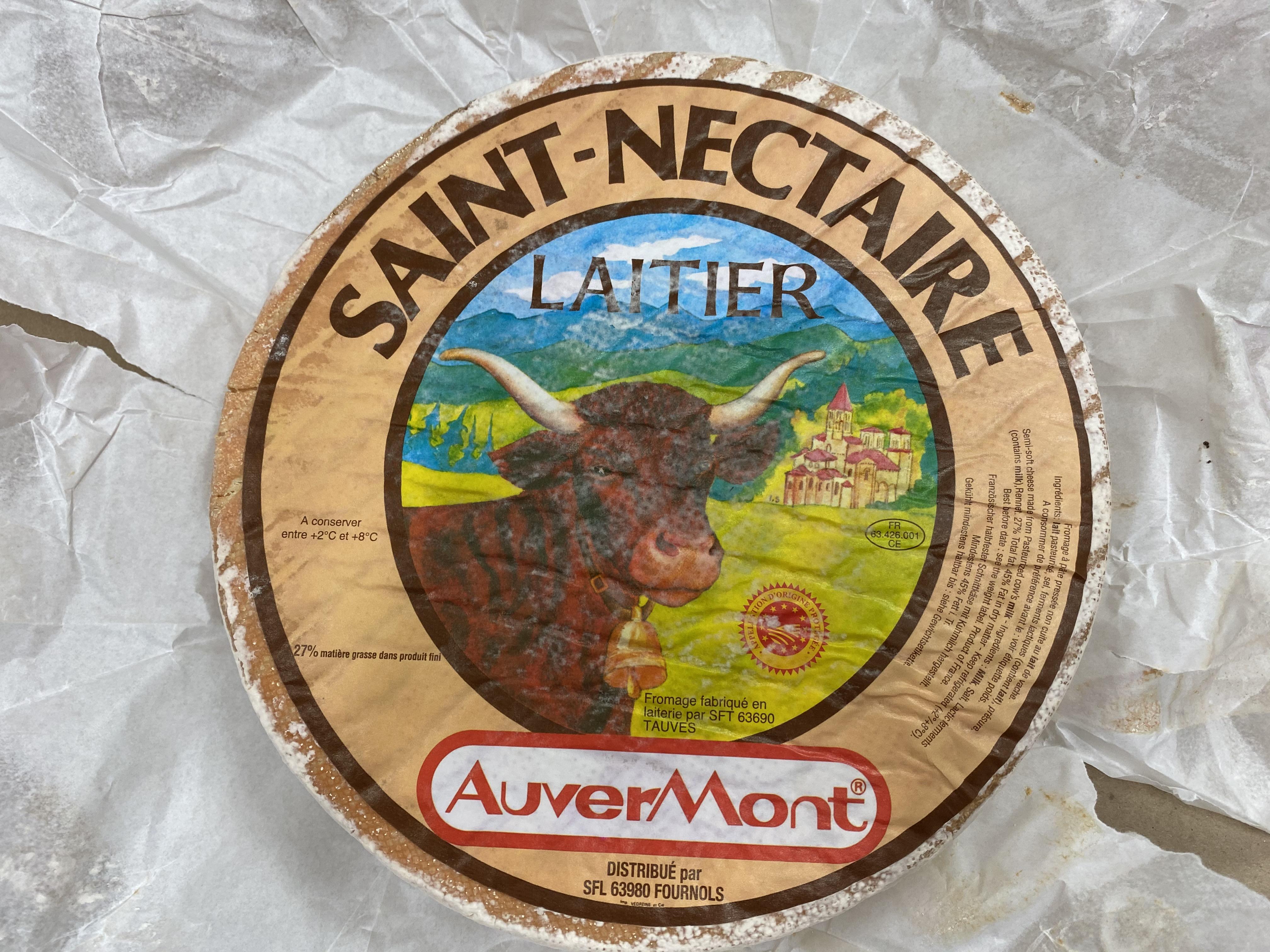 SAINT NECTAIRE LAITIER
