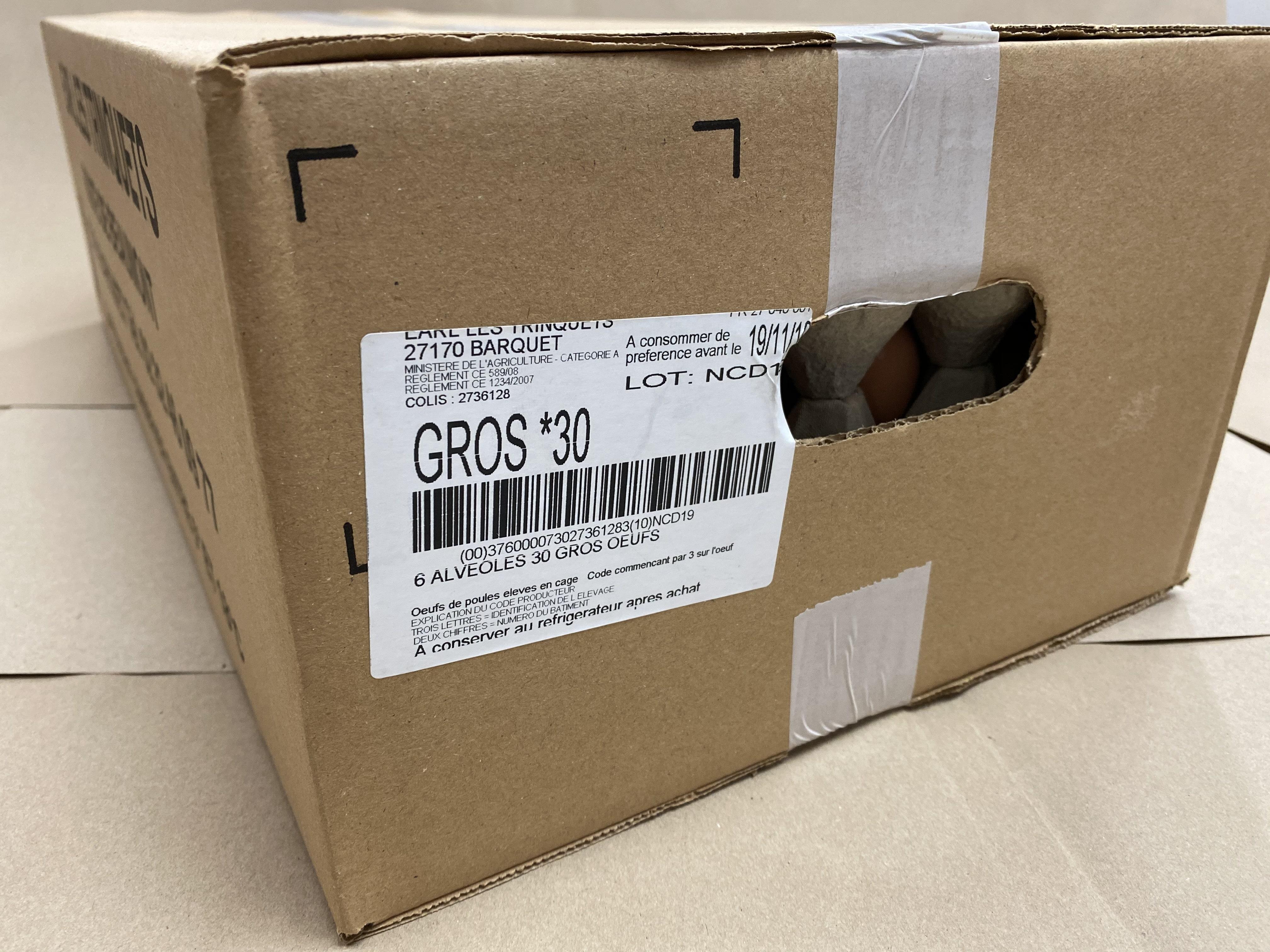 OEUFS X 180 G  63/73